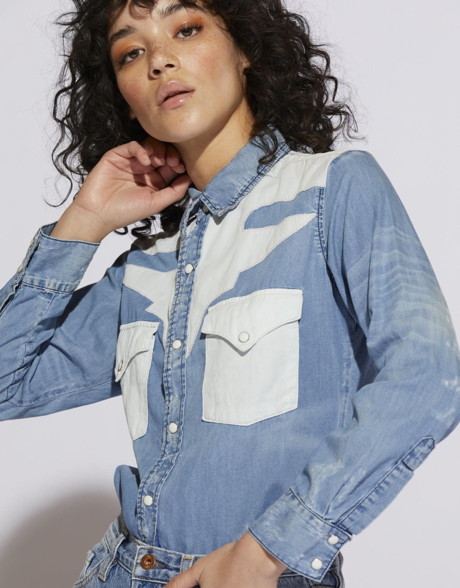 NSF - Teagan Western Button Up Shirt
