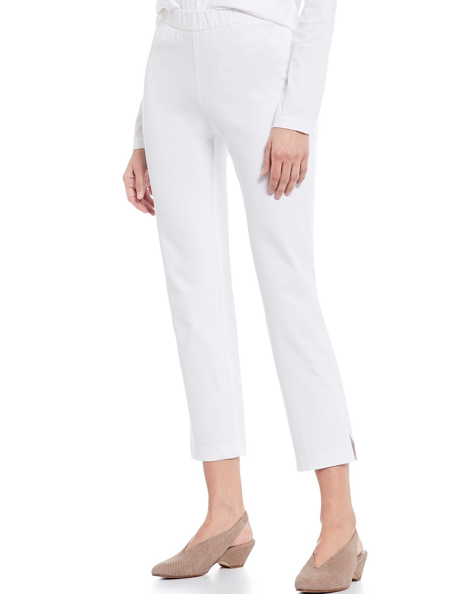 EILEEN FISHER - Organic Cotton Slim Ankle Pant