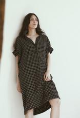 AMMA - Plaid Shirt Dress