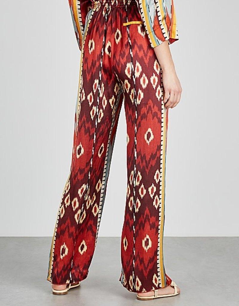 FORTE FORTE - Encens Print Wide Leg Trousers