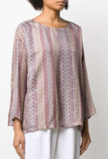 FORTE FORTE - Mixed Print Blouse