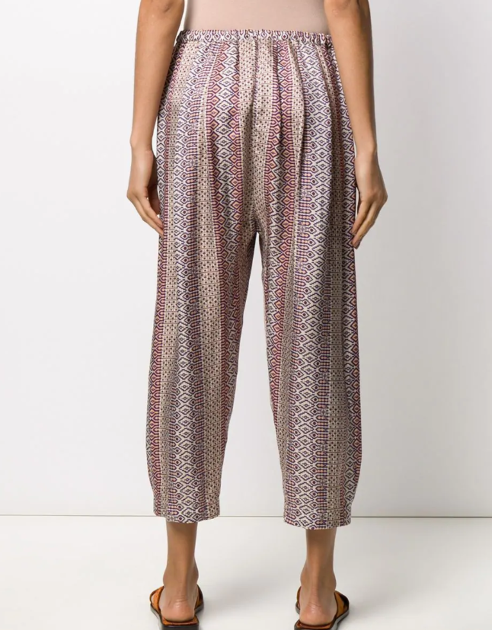 FORTE FORTE - Mixed Print Pant