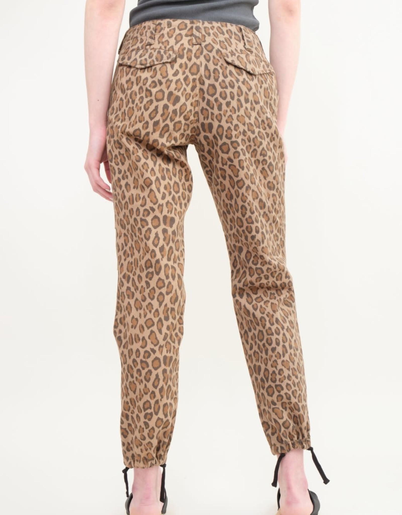 VIS A VIS - Leopard Print Pant