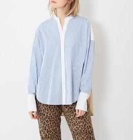 VIS A VIS - Banded Collar Shirt