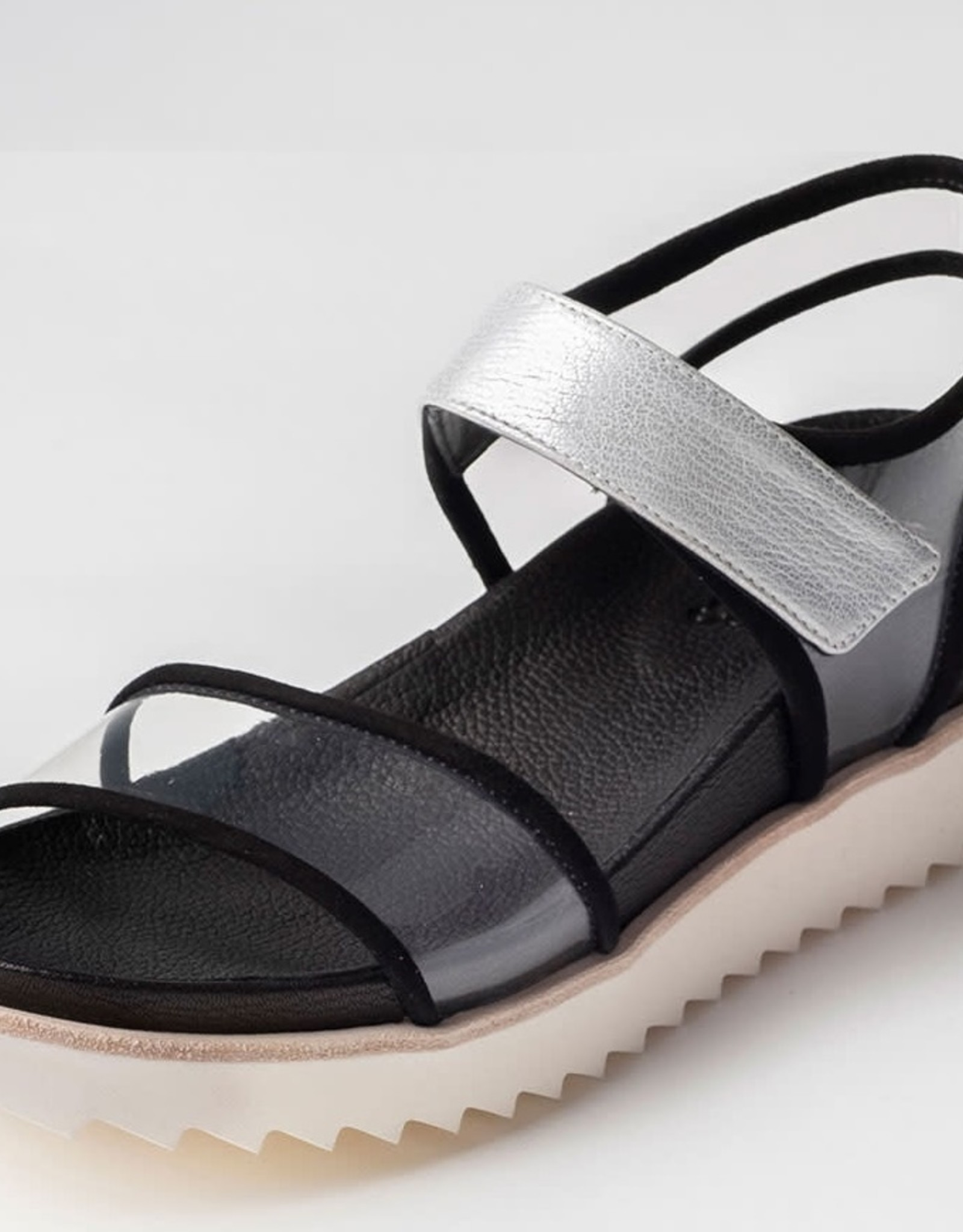 HOMERS -Lucite Sandal