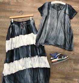 GILDA MIDANI - Stripe Skirt