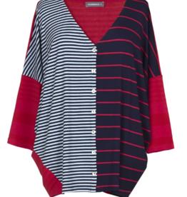 ALEMBIKA - Stripe Cardigan