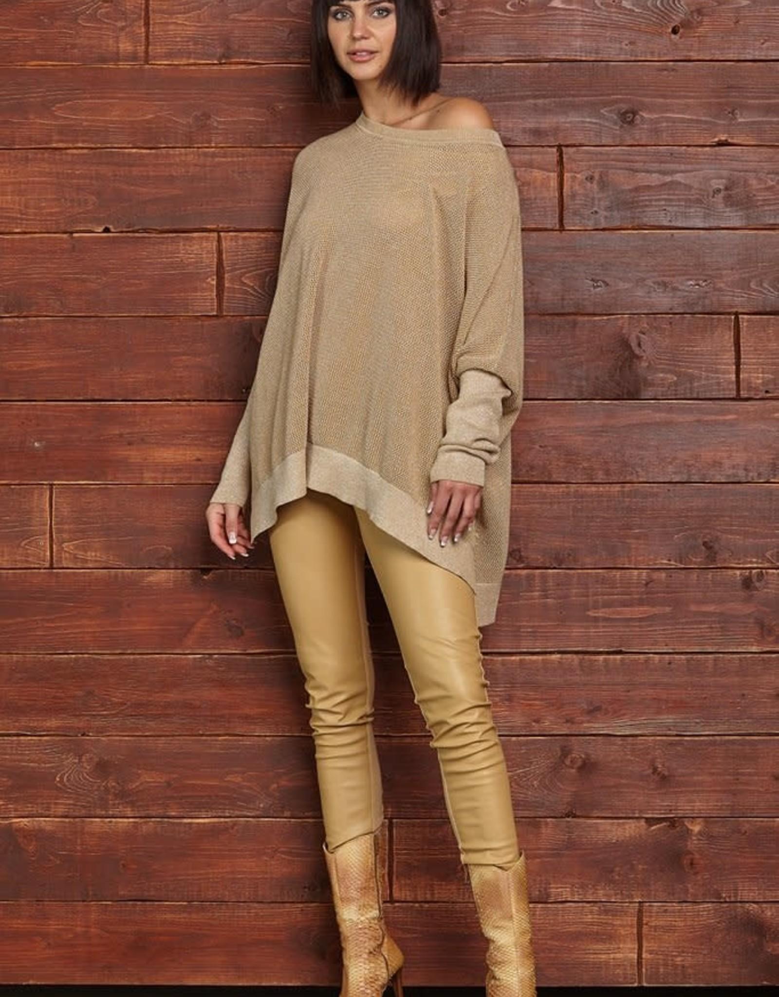 PLANET - Metallic Sweater