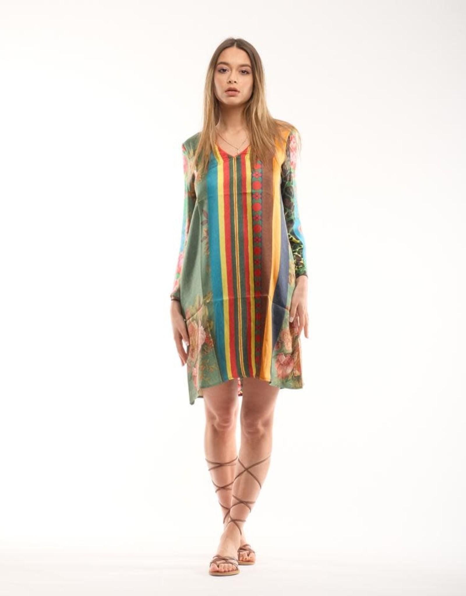 PIERRE-LOUIS MASCIA - Silk Print Dress