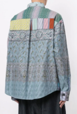 PIERRE-LOUIS MASCIA - Oversized Print Shirt