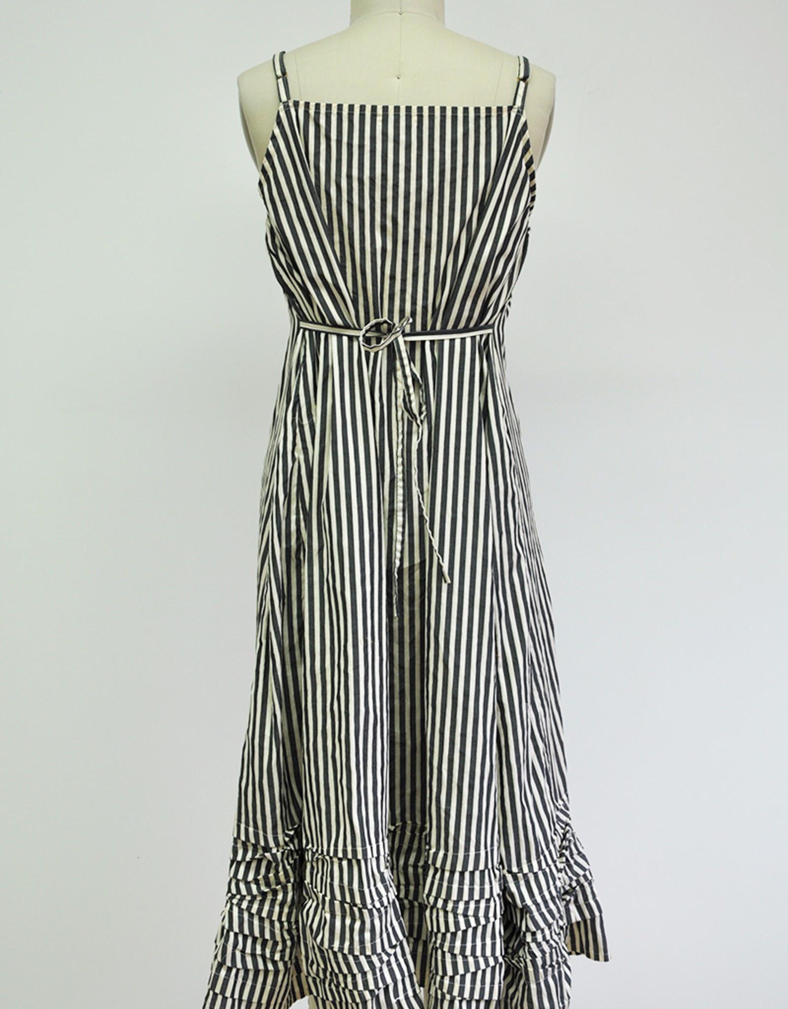 KRISTA LARSON - Stripe Slipdress