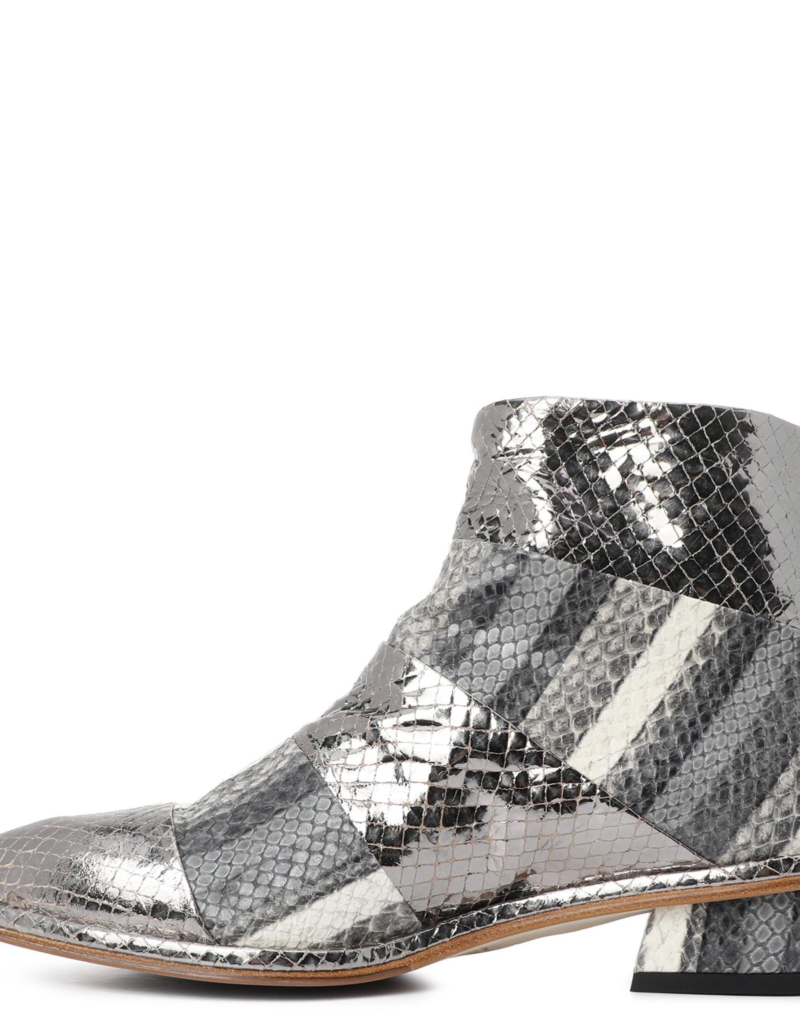 ERNESTO DOLANI - Metallic Snake Bootie