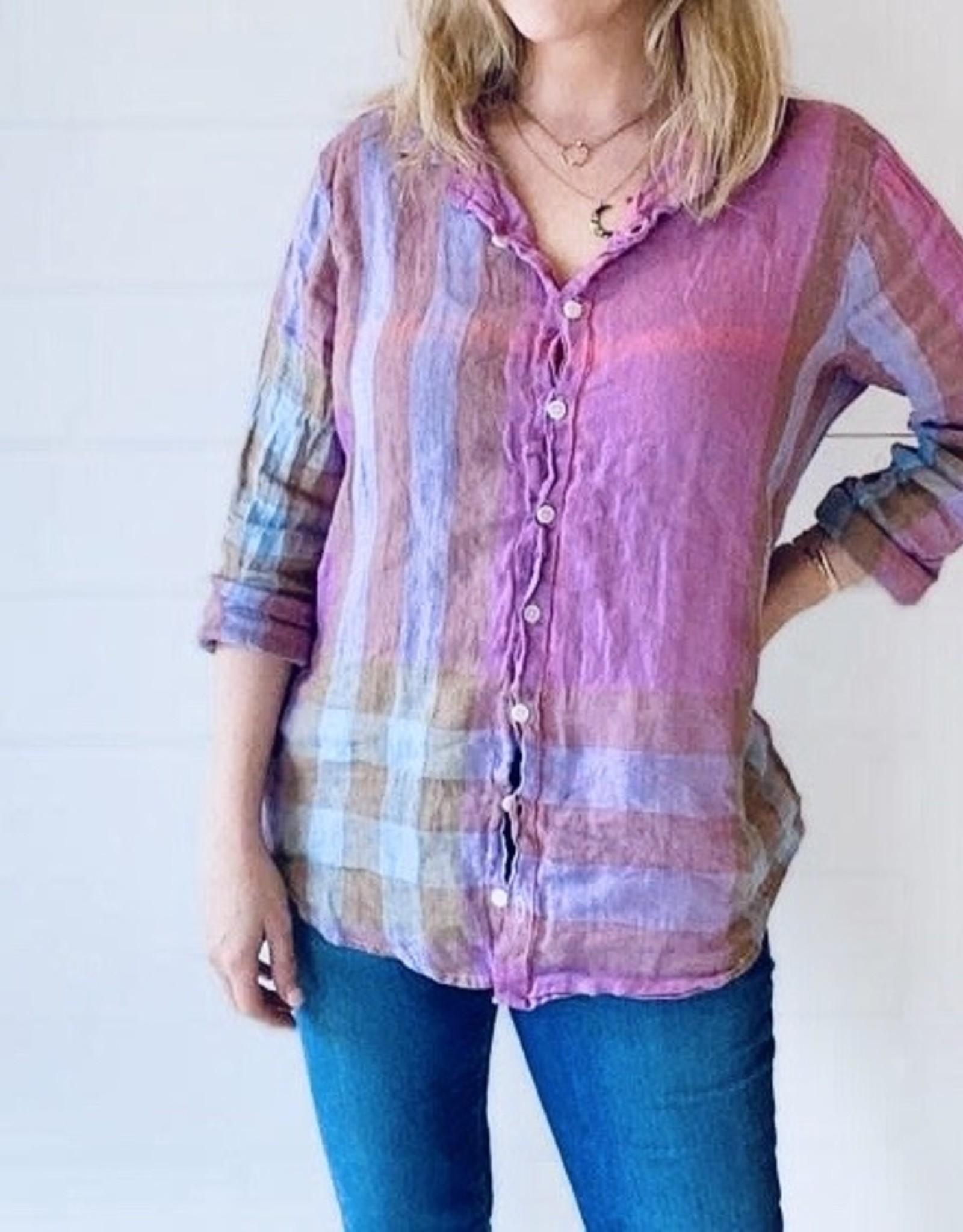CP SHADES - Romy Button Down Shirt
