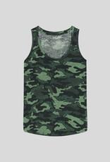 MAJESTIC - Camo Printed Tank Top
