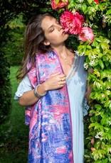 PETRUSSE - Impression Rose Silk Scarf
