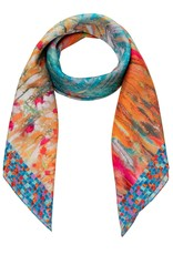 PETRUSSE - Mes Nympheas Silk Scarf