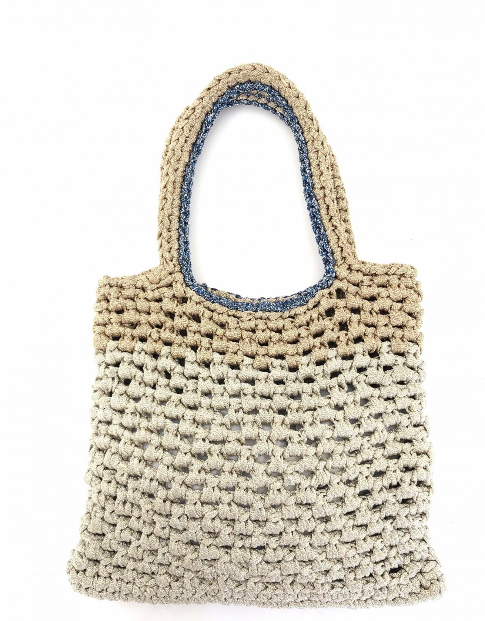 LORENZA GANDAGLIA - Dama Crochet Tote