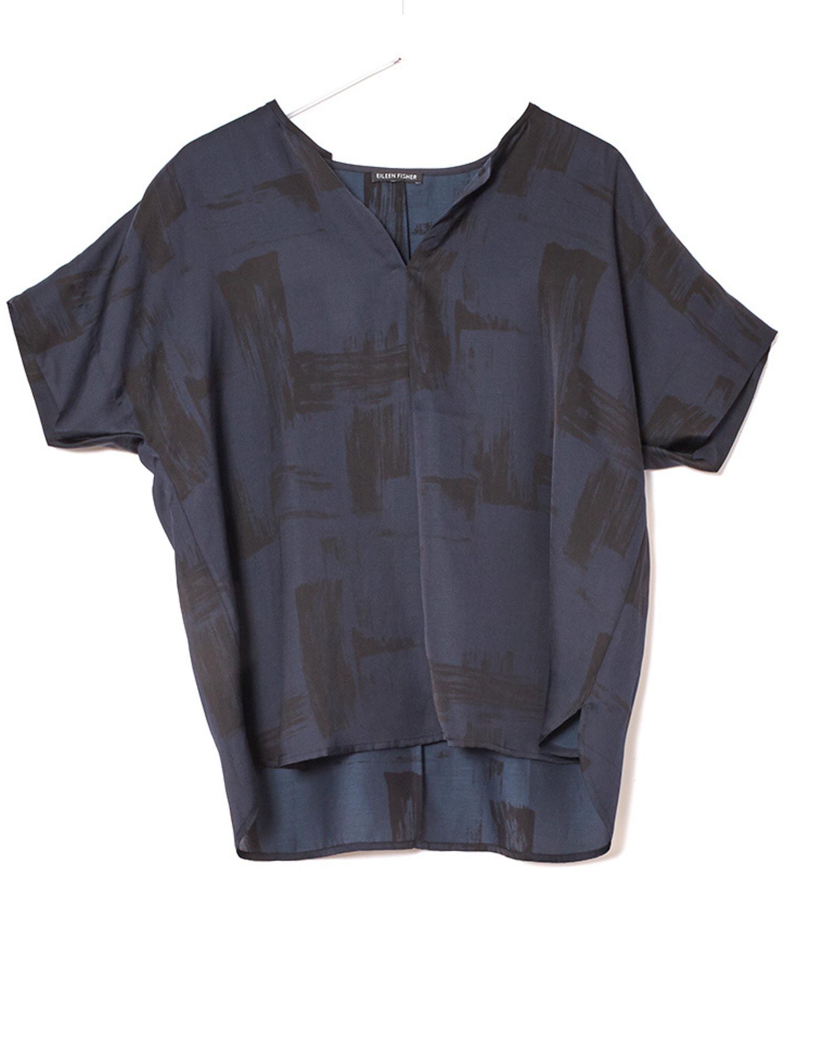 EILEEN FISHER - Brushstroke Boxy Shirt