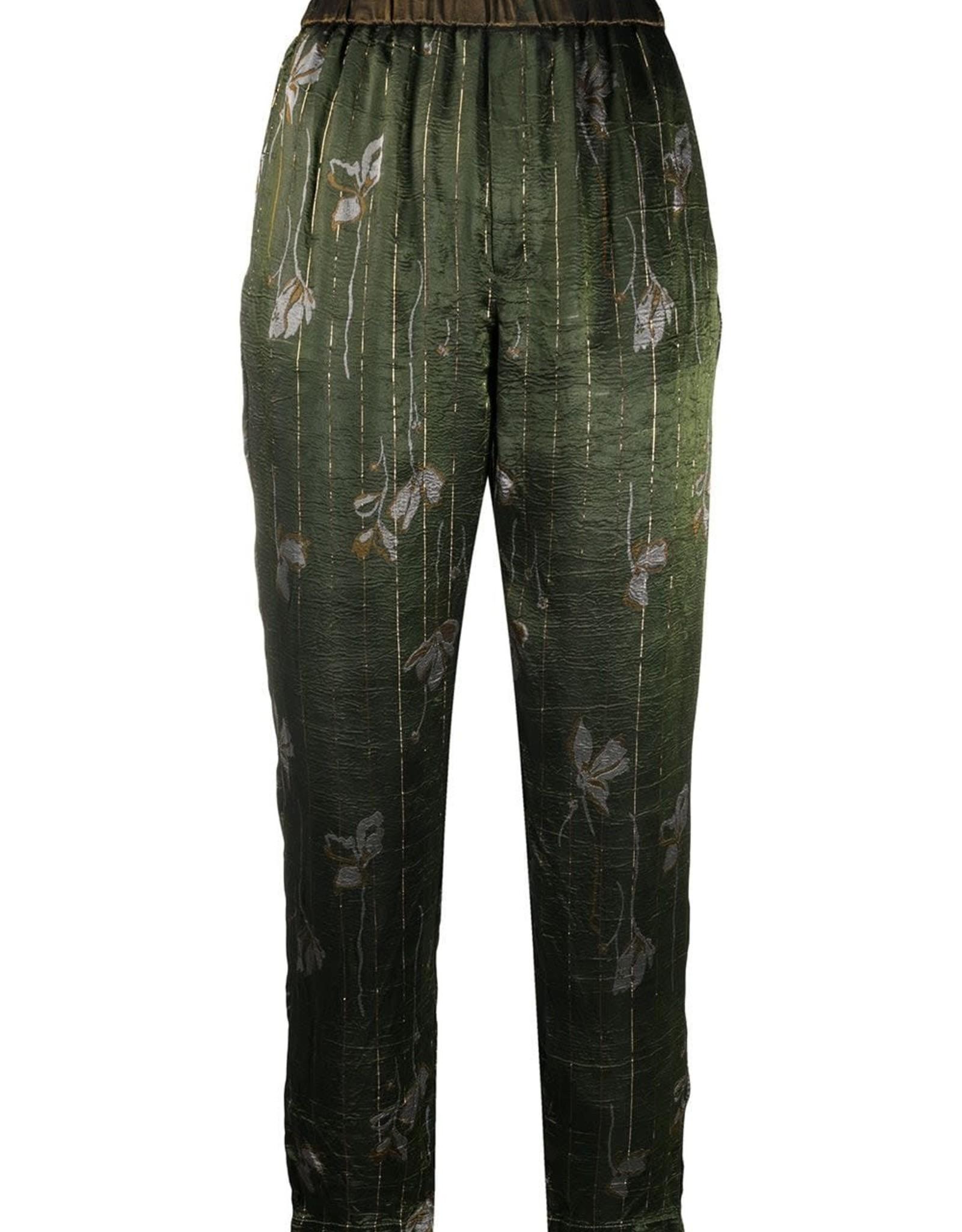 FORTE FORTE - Floral Silk Pant