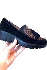 WONDERS - Leopard Print Loafer