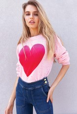 525 AMERICA - Heart Sweater