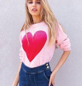 525 AMERICA - Heart Sweater