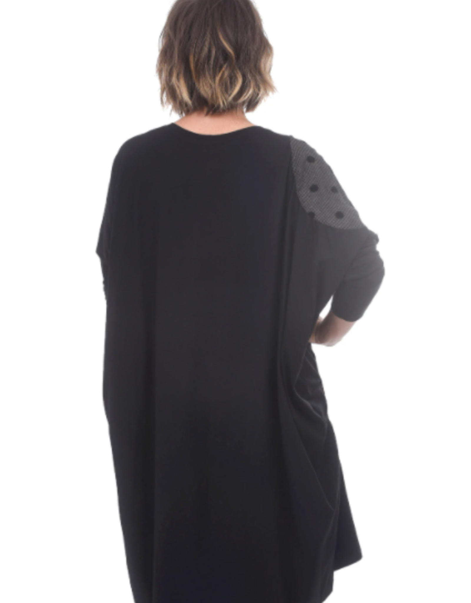 CREA - Checked Spot Dress