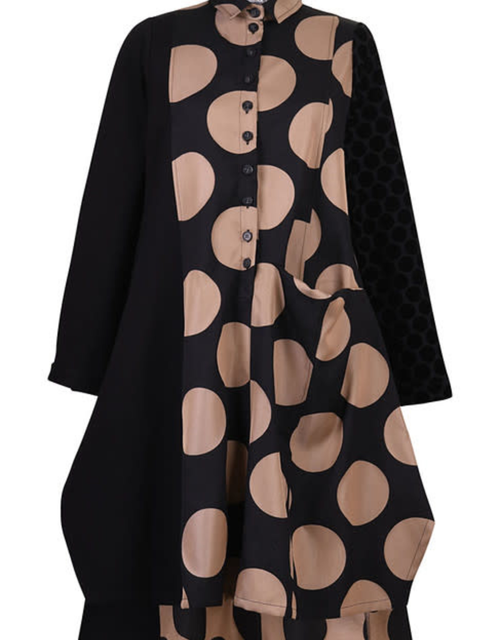 ALEMBIKA - Big Dots Dress