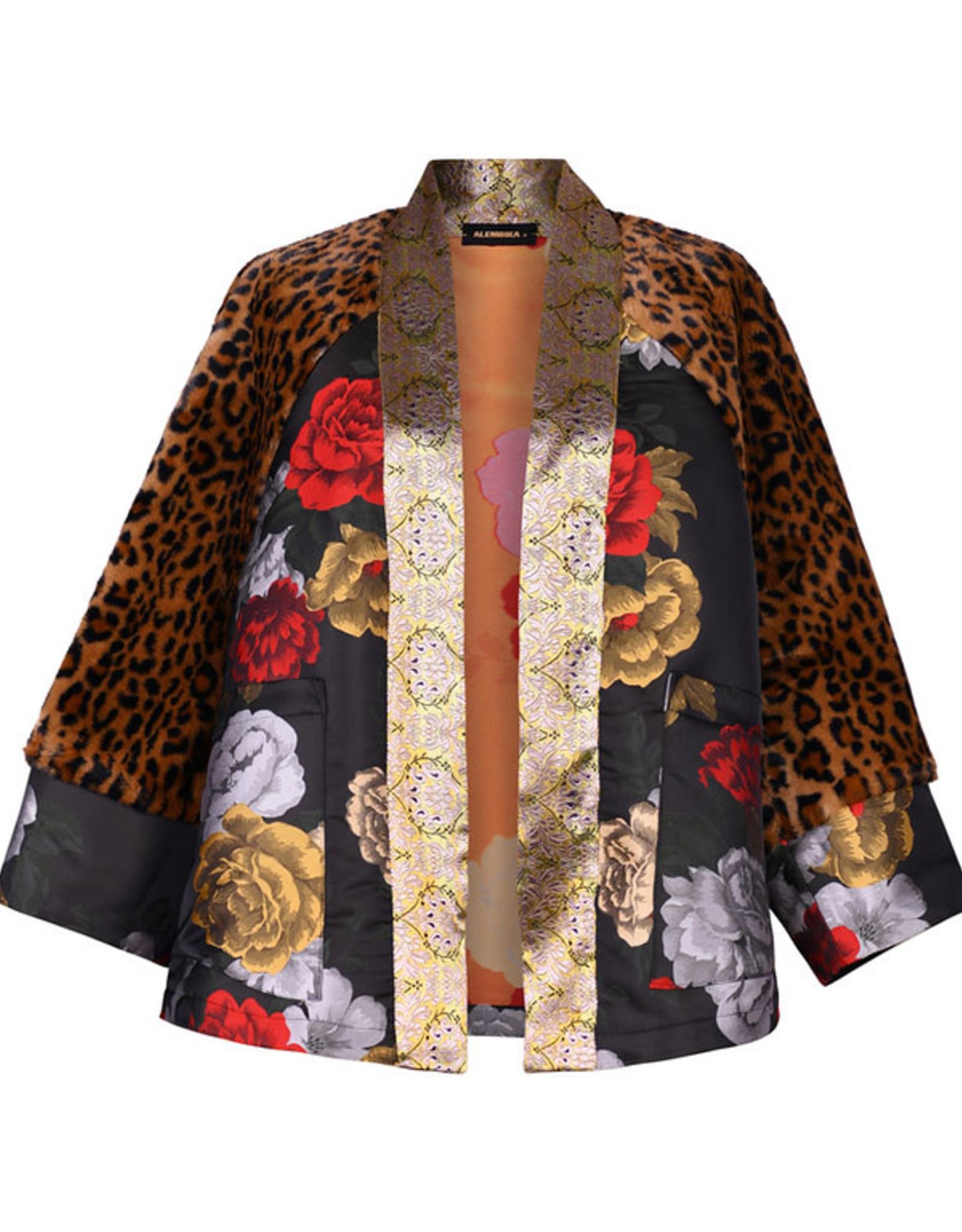 ALEMBIKA - Leopard Kimono Jacket