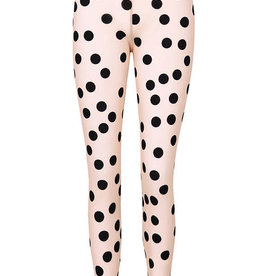 ALEMBIKA - Mesh Dot Leggings