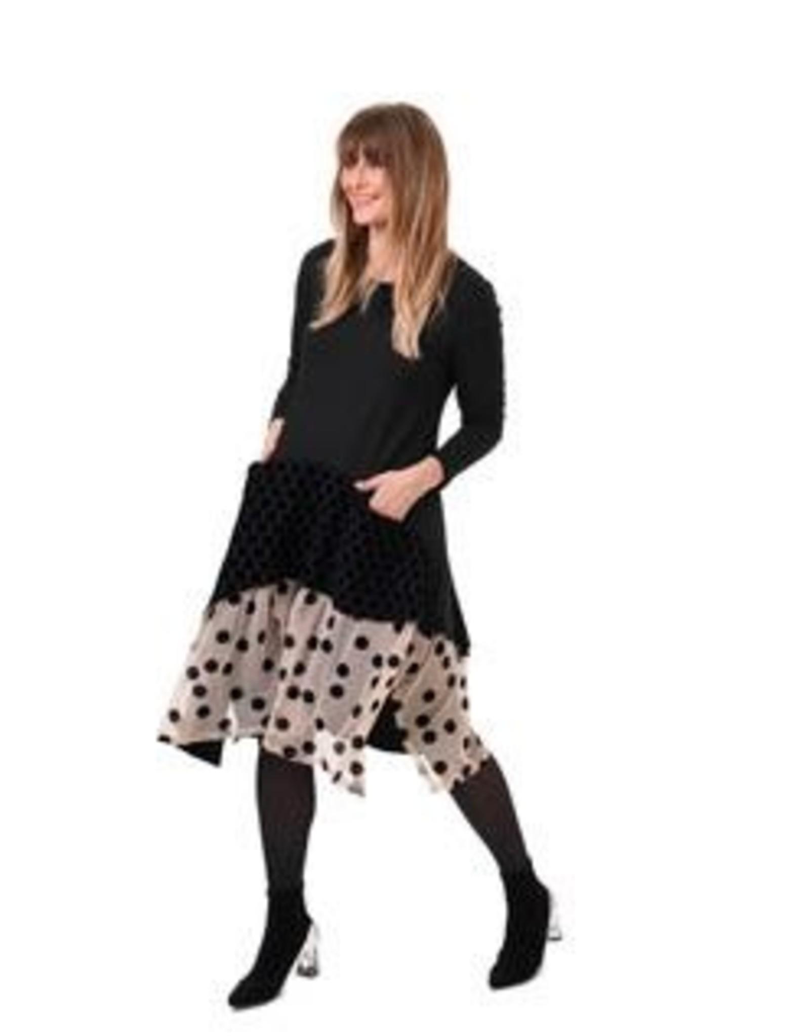 ALEMBIKA - Velvet Dot Dress