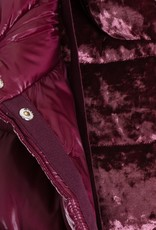 HERNO - Chenille Hooded Puffer Jacket