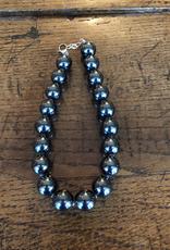 LOUISE ABROMS - Hematite Necklace