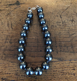 LOUISE ABROMS - Hematite Necklace