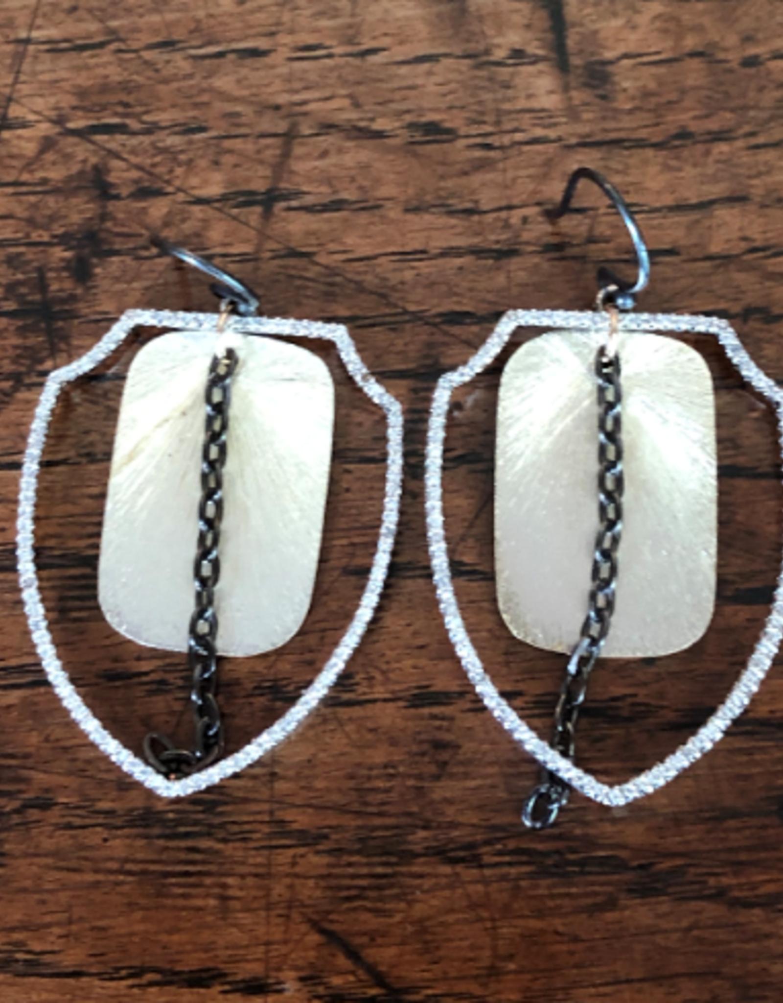 LOUISE ABROMS - Drop Earrings