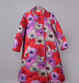 PERO - Hand Stitched Floral Coat