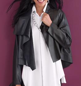 PLANET - Cropped Asymmetrical Jacket
