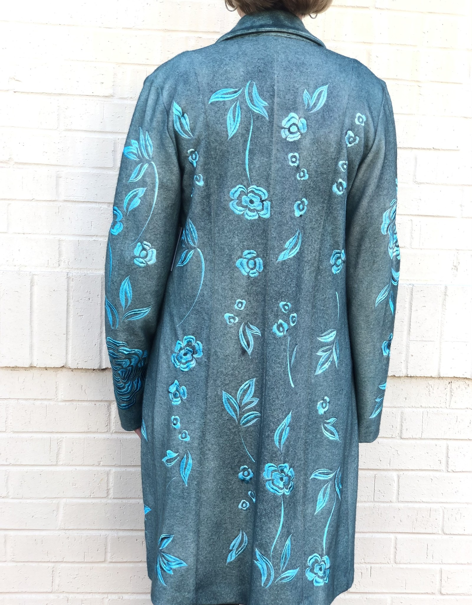 AVANT TOI - Embroidered Coat