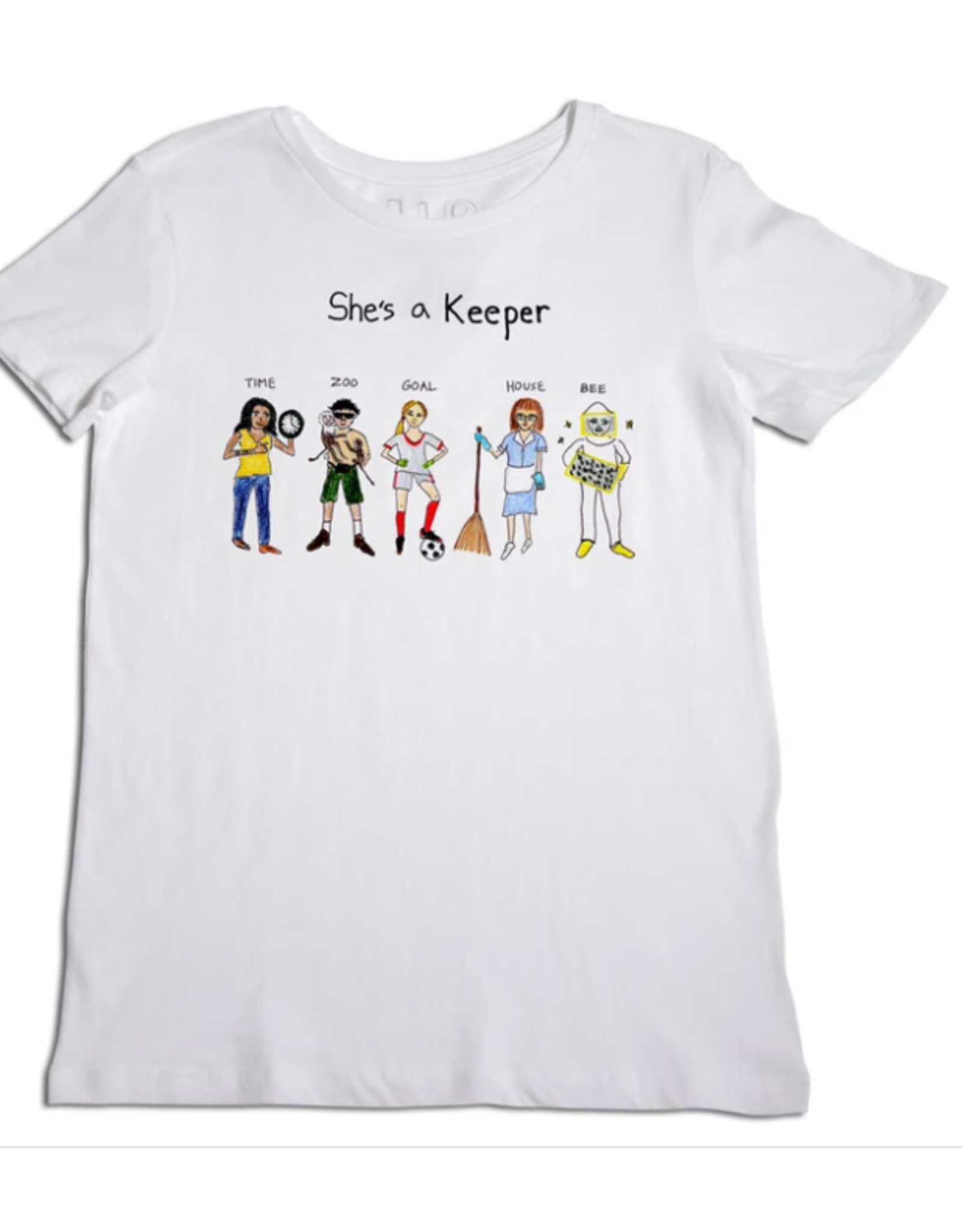 UNFORTUNATE PORTRAIT - She's A Keeper Tee