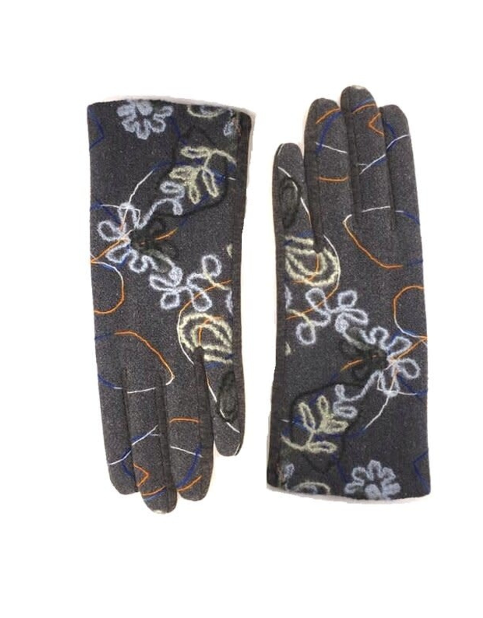 JUSTIN GREGORY - Embroidered Gloves