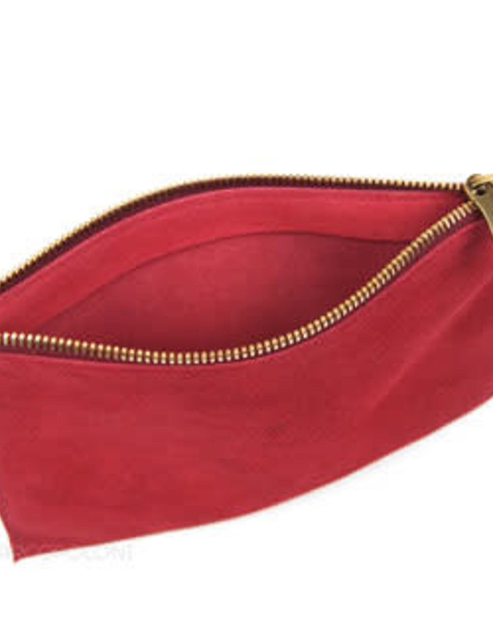 IL BISONTE Suede Gipsy Clutch