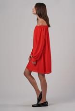 ATM Crepe Georgette Dress