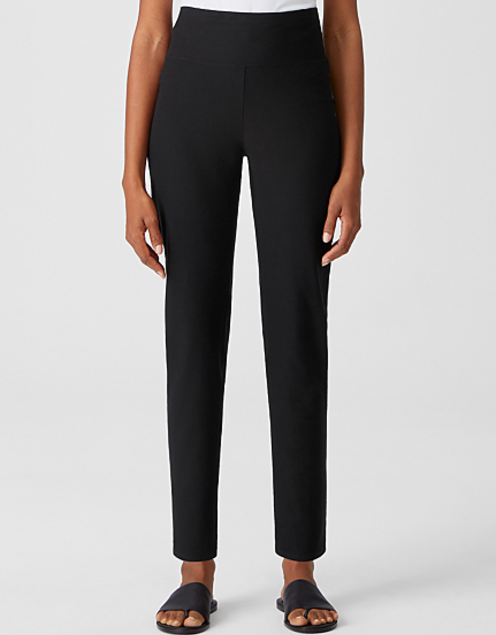 EILEEN FISHER Washable Stretch high Waisted Pant