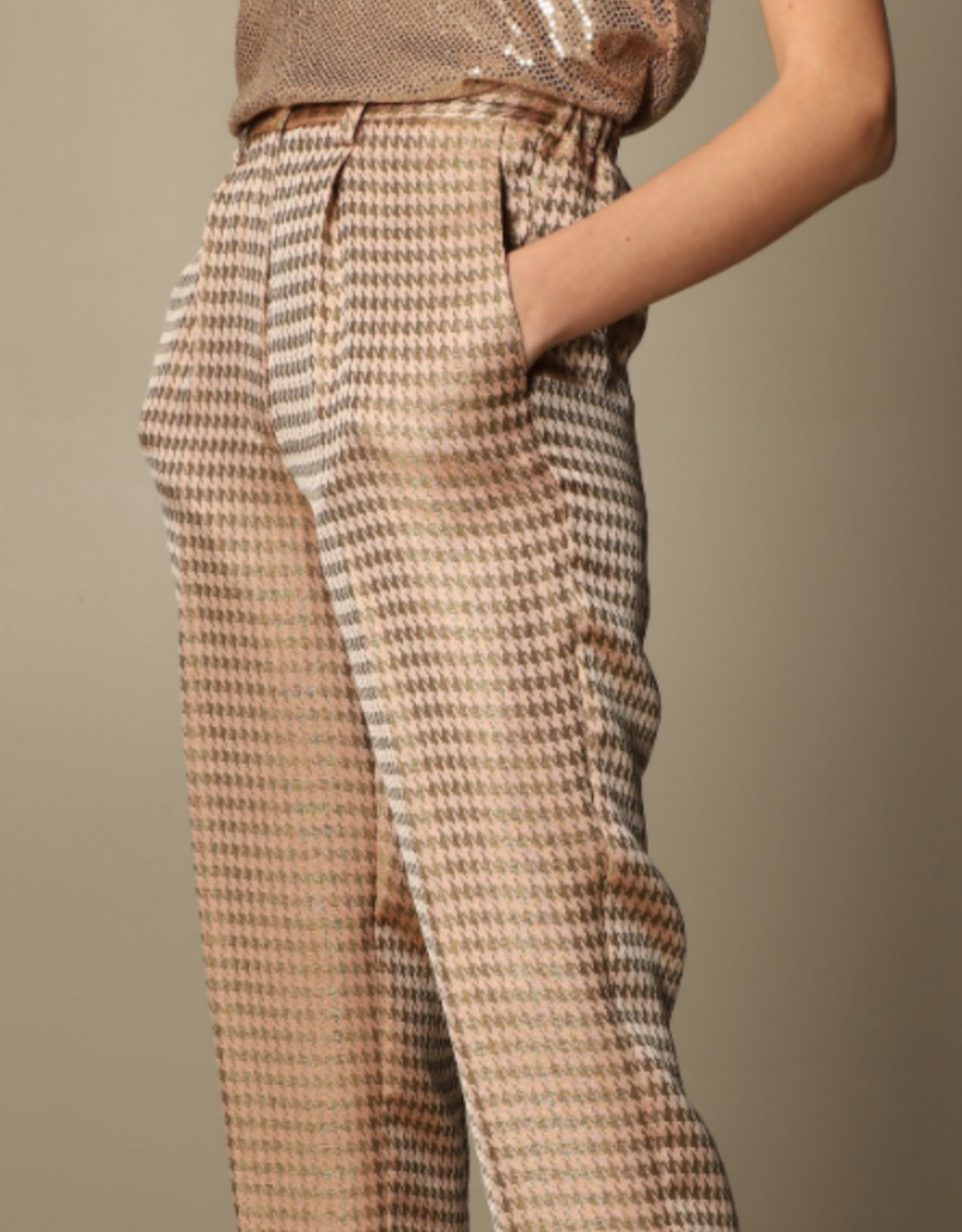 FORTE FORTE Houndstooth Pant