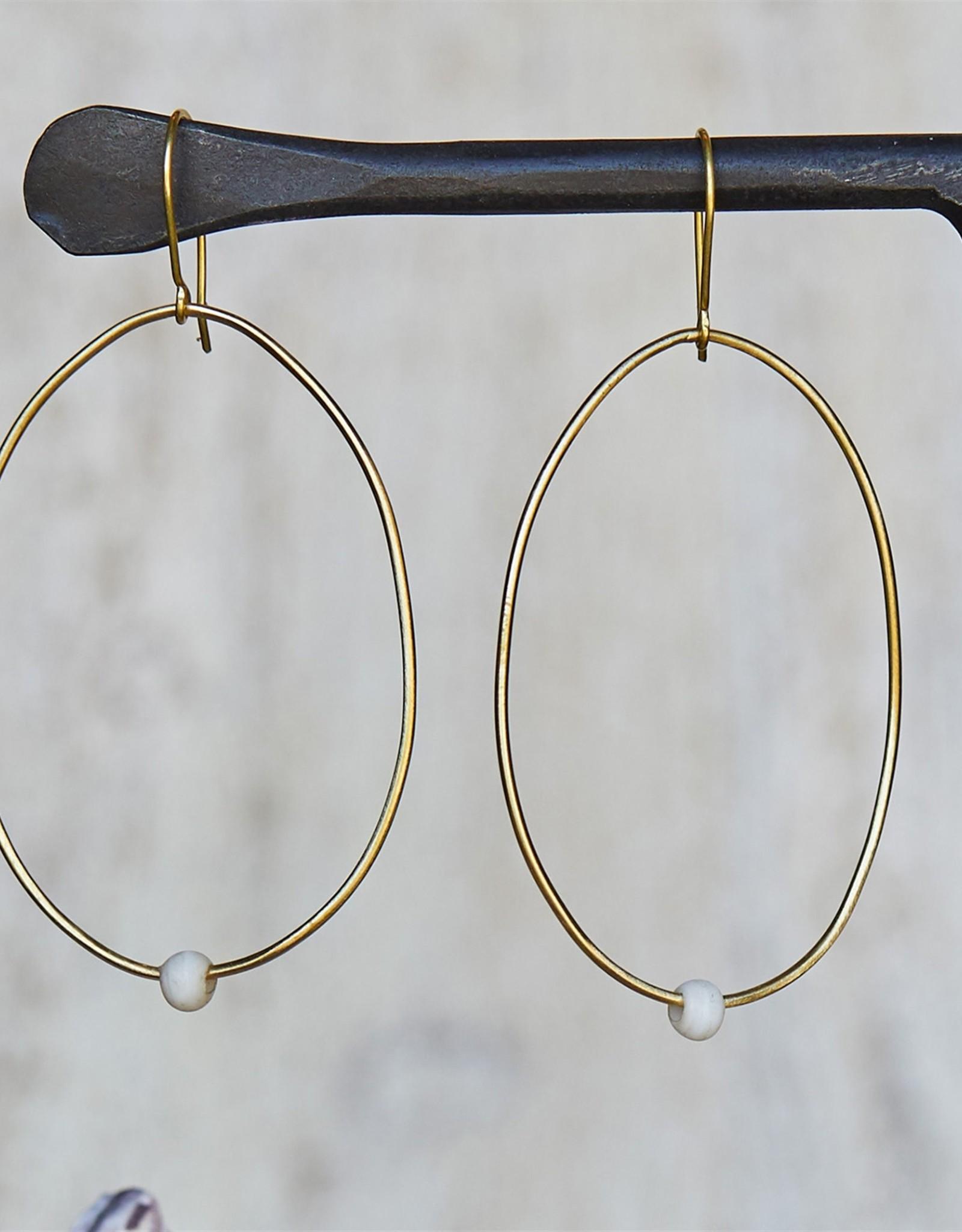 HOMART Lombok Oval Earring