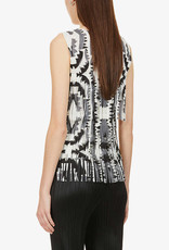 PLEATS PLEASE Zig Zag Fringe Top