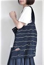 YOSHI KONDO Waves Tote Bag