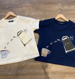 YOSHI KONDO Coffee T Shirt