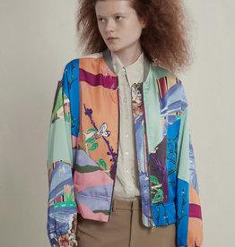 JNBY Silk Bomber Jacket