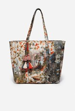 JOHNNY WAS Quilted Print Tote